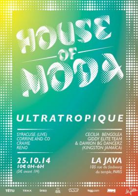 HOUSE OF MODA Ultratropique