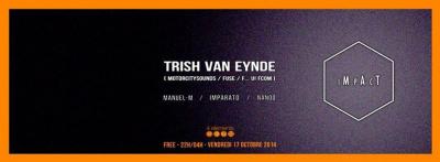 IMPACT invite Trish Van Eynde
