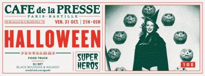 Halloween Super Héros