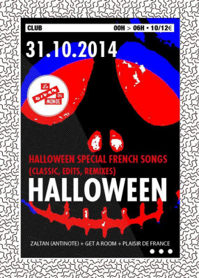 HALLOWEEN spécial FRENCH SONGS (CLASSIC, EDITS, REMIXES)