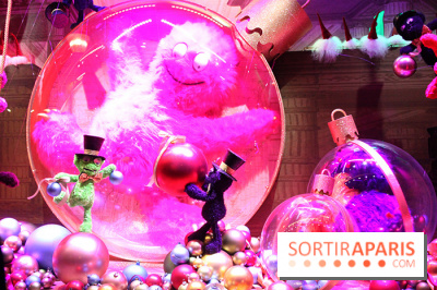 illuminations et vitrines 2014 des Galeries Lafayette