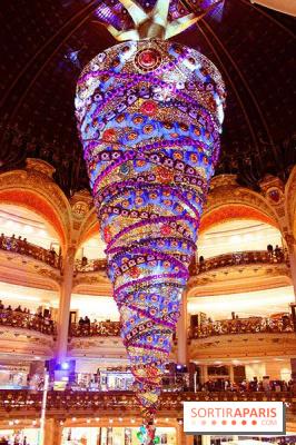 Lancement des illuminations et des vitrines 2014 des Galeries Lafayette