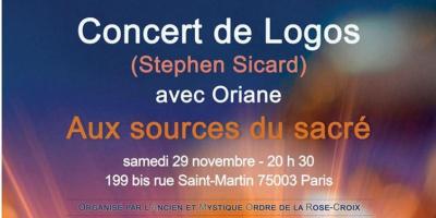 Concert Logos : Aux sources du Sacré