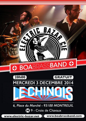 ELECTRIC BAZAR CIE + BOA BRASS BAND