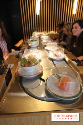Matsuri les sushis bars de la capitale - Restaurant japonais tapis roulant paris ...