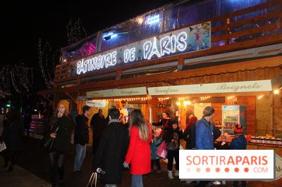Lancement du marché de Noël des Champs-Elysées 2014