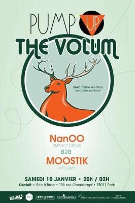 Pump Up The Volum' (janvier)