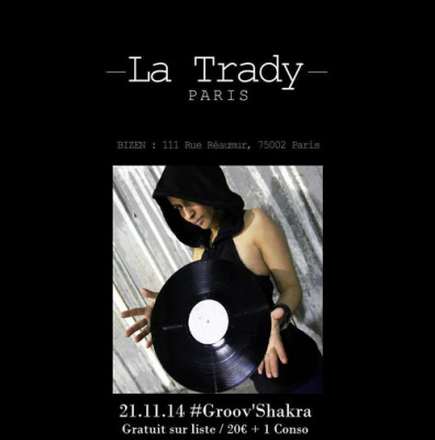 La Trady reçoit Groov'Shakra