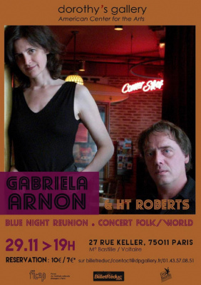 Blue Night Reunion : Gabriela Arnon et HT Roberts