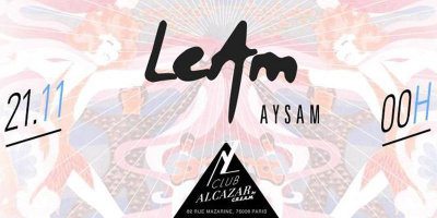 CLUB ALCAZAR by CREAM // 21 NOV