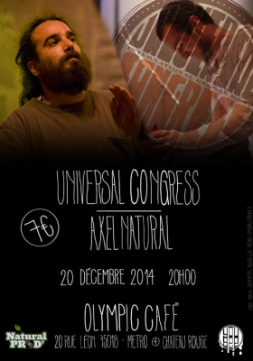 Universal Congress + Axel Natural