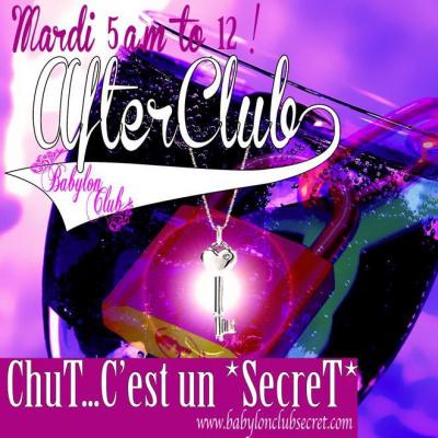 After Chut ...c'est un secret !