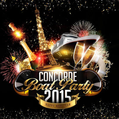 CONCORDE «BOAT PARTY 2015» (Bateau, Buffet, Fiesta)