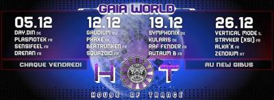 HOT House Of Trance du 05/12/2014