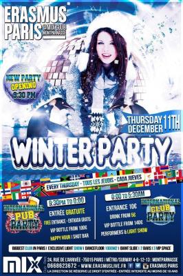 Erasmus Paris - Winter Party