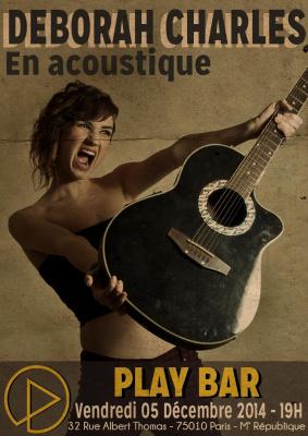 Deborah Charles : En acoustique