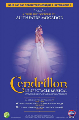 Cendrillon, le spectacle musical, revient