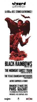 Black Rainbows + The Midnight Ghost Train