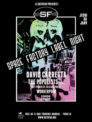 SPACE FACTORY LABEL NIGHT