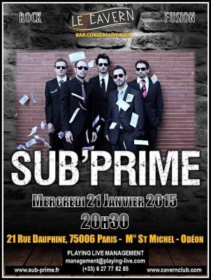 Concert SUB'PRIME