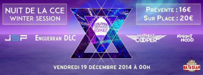 Nuit de la CCE Winter Session