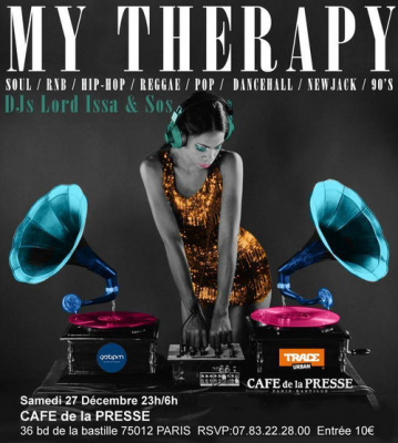 My Therapy IX @CAFE DE LA PRESSE