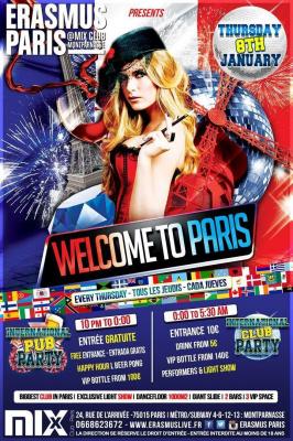 Erasmus Paris : Welcome to Paris 2015