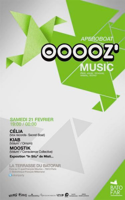 ooooz' music (février 2015)