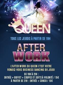 AFTERWORK @QUEEN CLUB PARIS (Champs Elysees)