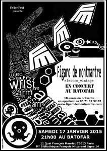 FIGARO DE MONTMARTRE en CONCERT