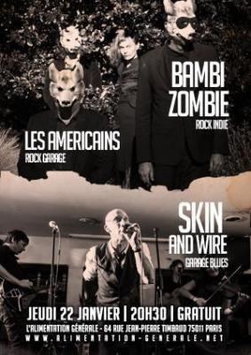 BAMBI ZOMBIE > Concert