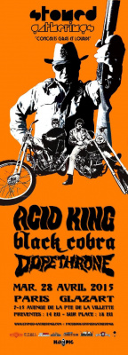 ACID KING + BLACK COBRA + DOPETHRONE