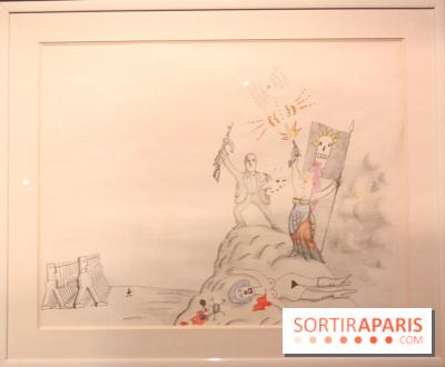 Cahiers dessinés à la Halle Saint-Pierre