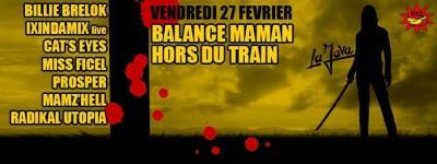 BALANCE MAMAN HORS DU TRAIN