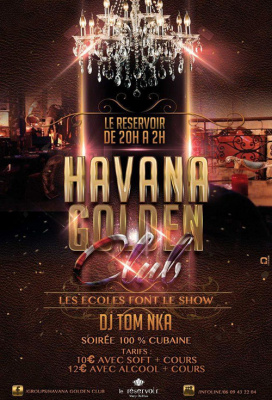 Havana Golden Club - 100% Cubaine