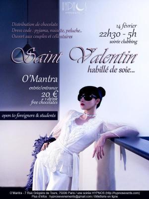 Valentin(e) party 2015 Habillé de soie ...