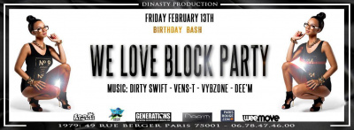 We Love Block Party Birthday 2 ans