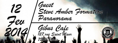 STEVE AMBER, PARANORAMA, GUEST