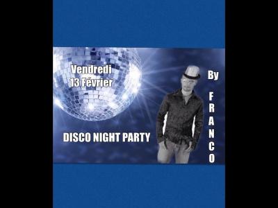 Soirée Disco FUNK vendredi 13 fevrier