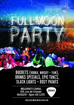 full moon party free entry