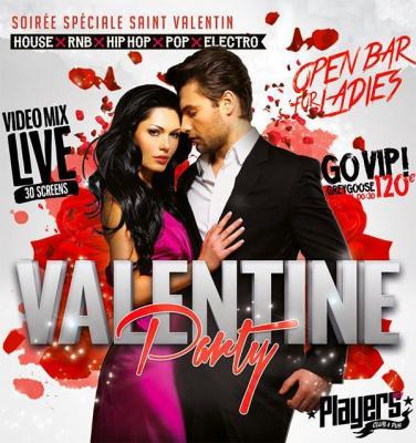 VALENTINE'S PARTY : Spéciale Saint-Valentin
