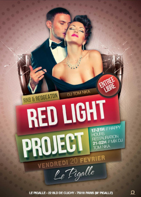 """Red Light Project "" RnB vs Reggaeton Mix Tom Nka Le Pigalle"