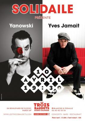 soirée Solidaile: Yanowski, Yves Jamit