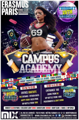 Erasmus Paris : Campus Academy