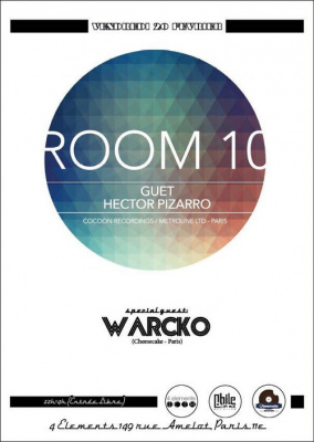 ROOM 10 @ 4 ELEMENTS #2 invite WARCKO