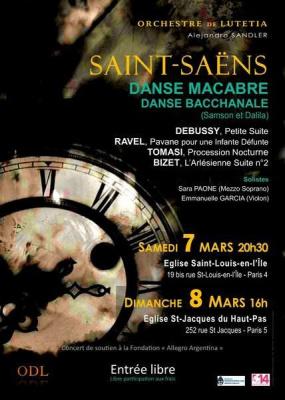 Orchestre de lutetia: Saint-Saêns, Debussy, Ravel, Bizet, Tomasi