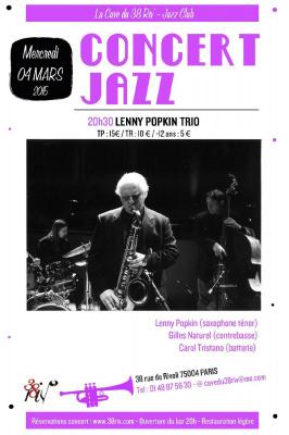 Lenny Popkin Trio