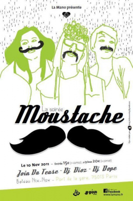 Join da Tease @ Soirée Moustache