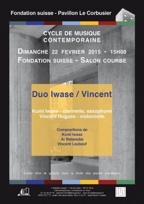 Duo Iwase/Vincent - Cycle de musique contemporaine