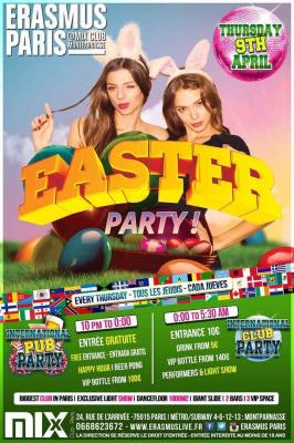 Erasmus Paris : Easter Party